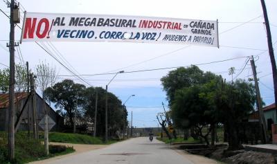 Legisladores visitan hoy Cañada Grande, el lugar de megabasurero