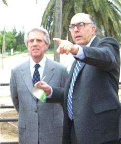 Presidente de allí para allá, es Montevideo, pero aquí es tierra canaria ¿vió?