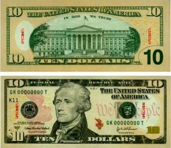 URUGUAY. Los nuevos 10 dólares ya no serán solo verdes.