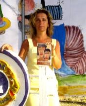 """PARQUE DEL PLATA. Canelones """"de muestra"""" a la escritora Mariela Rodriguez"""