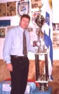 CANELONES. Campeonato policial de fútbol 5 y 11, del 2006, con Copa de 2 metros.
