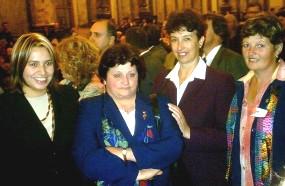 CANELON CHICO. Graciela Pereyra premiada ante un millar de personas en el Palacio Legislativo
