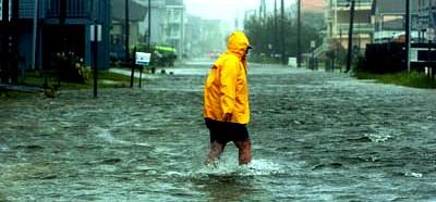 Inundaciones masivas, 75 personas evacuadas sólo en Canelones Capital