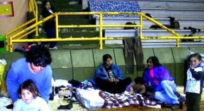 PASO CARRASCO. Aún hay evacuados fuera de su hogar, evalúan su regreso.