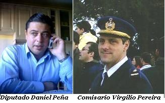 CANELONES. Diputado Daniel Peña gestiona donaciones para evacuados.