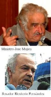 """URUGUAY. """"Vuestra herencia es envidiable"""" dijeron Mujica y Fernández Huidobro en el saludo a los blancos, leído en la celebración de los 170 años."""