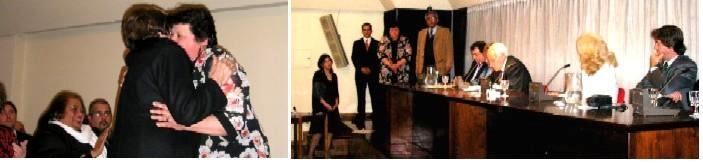 CANELON CHICO. Líder de Mucachi premiada como la madre del año por la Asociación Cultural Oriental.