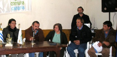 La Junta Local informó de los trabajos viales realizados durante el mes de agosto de 2006