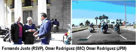Cruzaron Canelones en marcha contra los accidentes de tránsito.