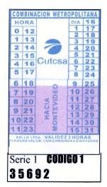 El lunes 13 comenzó la Combinación Metropolitana en el transporte colectivo de pasajeros