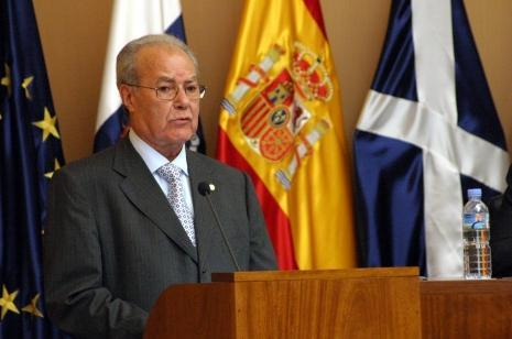 Ignacio González Martin, español inversor de Canelones, recibió delegación uruguaya