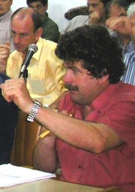 """Edil Juan Boscana: """"Cuesta creer que el ñoqui Charamelo, esté realmente preocupado por Canelones"""""""