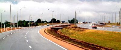 MTOP inaugura la doble vía de circulación en la ruta 5 tramos Las Piedras-Progreso.
