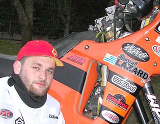 Laurente Lazar, es el tercer mejor piloto de motos de rally del mundo.
