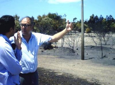 Sofocar los incendios en la costa canaria costó 4 millones de dólares, hasta ahora.