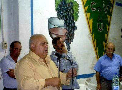 Aramir Silva fue reelegido como Presidente del Centro de Viticultores del Uruguay