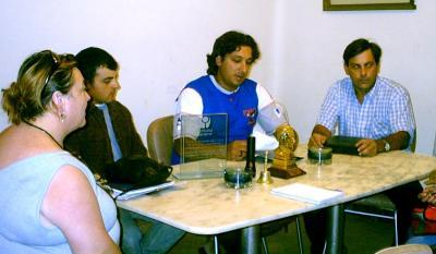 Los Feriantes sauceños sesionaron con la Comisión Ferial por primera vez.