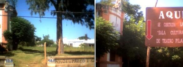 """La comunidad santalucense construye los """"Pilares"""" para su primera sala teatral"""