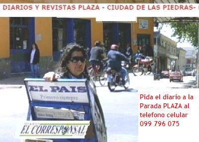 EL CORRESPONSAL en la Plaza de Las Piedras