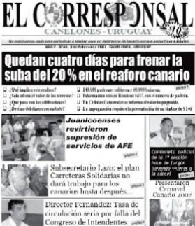 EL CORRESPONSAL edición 43