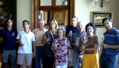 El Domaine Castelar es visitado por el Instituto Histórico de Juanicó