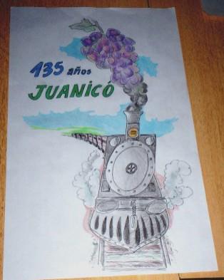 El tren juanicoense en lugar de humo, echa uvas