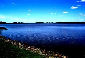 Ruben Darío Sosa Ibarra, se ahogó en este lago, del arroyo Canelon Grande