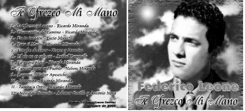 """Federico Leone, el suarence que ofrece su corazón al interpretar """"Para ti madre"""""""