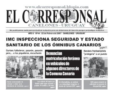 EL CORRESPONSAL edición 44
