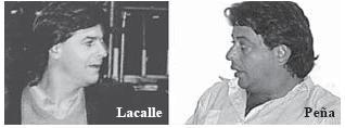 Incidente Lacalle Pou - Peña Fernández