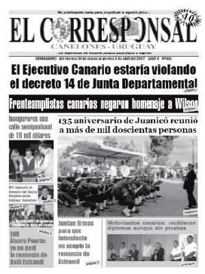 EL CORRESPONSAL edicion 48
