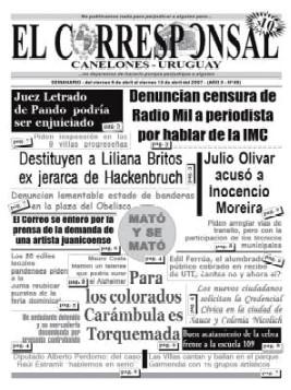 EL CORRESPONSAL edición 49