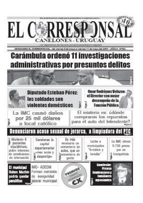 EL CORRESPONSAL edición 52