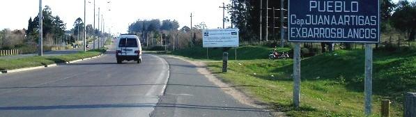 Habrá  línea de ómnibus interna y un Brou en Barros Blancos, pero a fines del 2008.