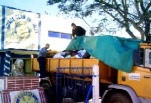 Rotary envió ayuda a inundados de Durazno