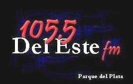 """Del Este FM volvió a emitir por internet: con el lema: """"somos todos parqueplatenses""""."""