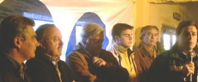 Un centenar de herreristas se reunieron con los pre-candidatos del sector.