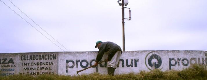 Continúan trabajos en el velódromo juanicoense Omar Moizo.