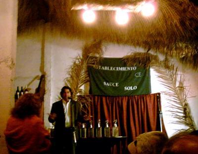 """El establecimiento """"Sauce Solo"""" entregó sus Reconocimientos 2007."""