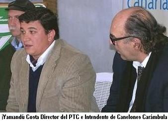 Yamandú Costa (PTC) habría incurrido  en un conflicto de intereses.