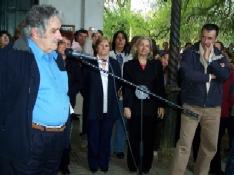 Concentración de autoridades en el Vivero Alejandro Gallinal