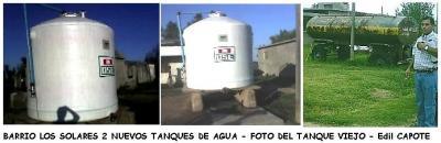 Barrio Los Solares tiene ahora 2 tanques nuevos de agua de OSE