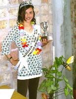 Camila Cabrera la Reina de la Primavera sauceña