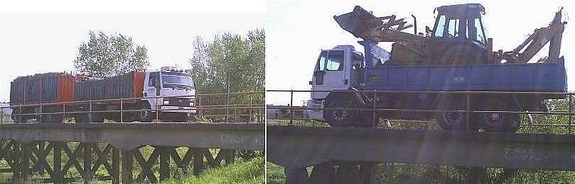 Confirmado por el MTOP: el puente sauceño esta herido