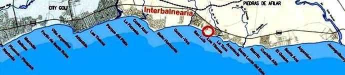 24 balnearios de la Costa de Oro, rodeados de porquería