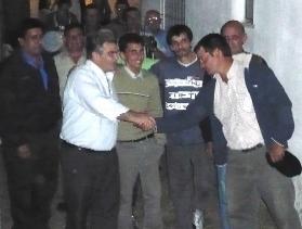 La visita de Vidalín, causa una expulsión