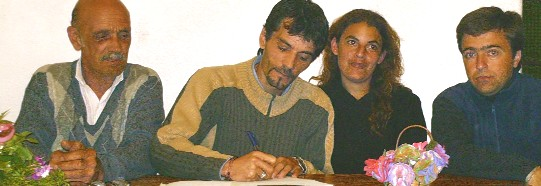 Primer respaldo público al Edil Lúquez
