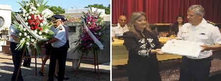 Policía de Canelones: día de premios y lágrimas