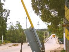 En el año 2008 el gobierno prometió nuevo puente sobre el río Santa Lucía