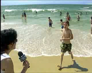 La ola de calor trajo la ola de turistas